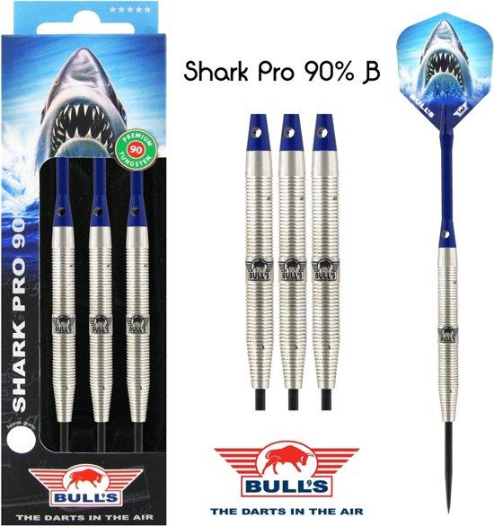 Bull's Shark Pro B 90% Tungsten 23g Dartpijlen