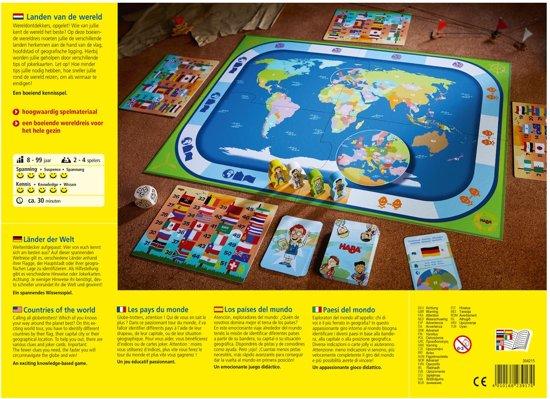Haba - Spel - Landen van de wereld - 8+