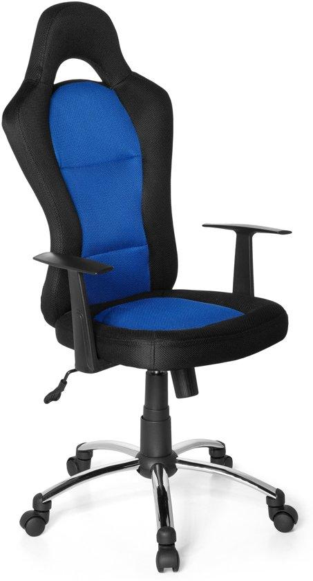 hjh office Racer 500 - Bureaustoel - Zwart / blauw