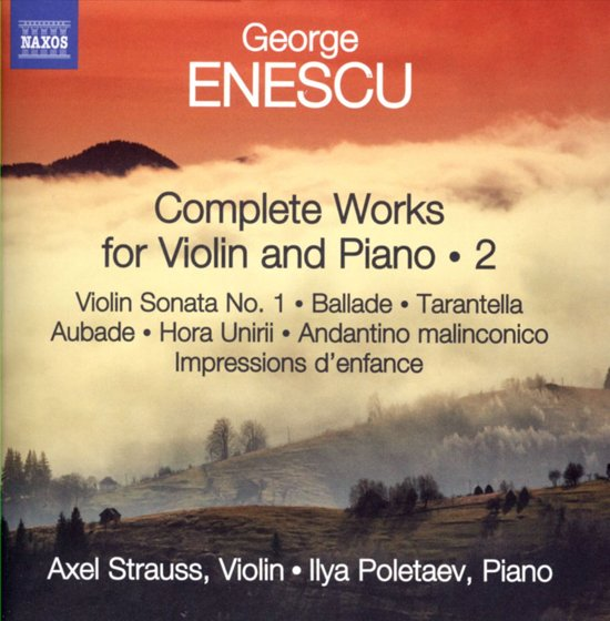 Complete Works For Violin And Piano, Vol. 2