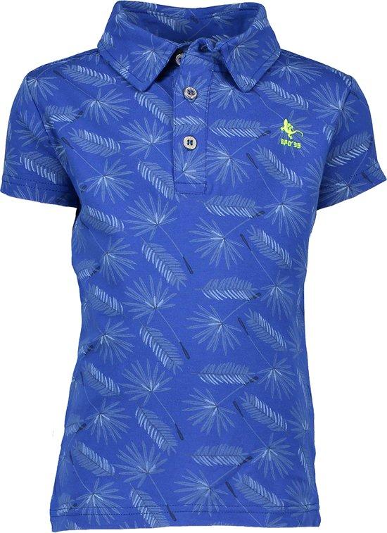 Bampidano Jongens T-shirt - navy allover - Maat 122/128