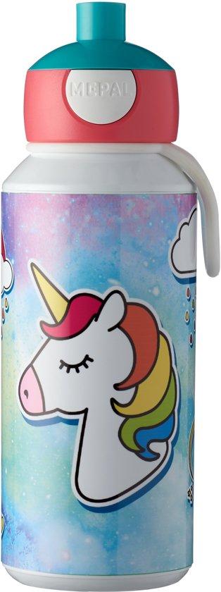Drinkfles Pop-Up Unicorn 400 ml