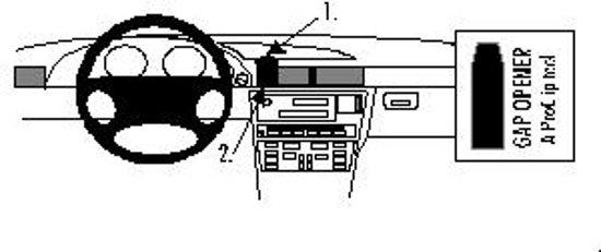 Brodit center mount v. BMW 728-750 E38 94-01