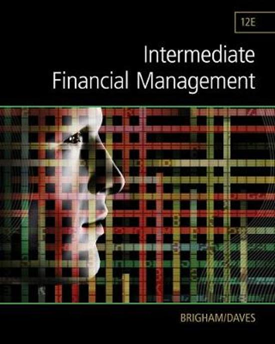 brigham financial management 13th test bank chapter 1 Fundamentals of financial management, 13th edition solutions manual and test bank by eugene f brigham solutions manual and test bank chapter ten.