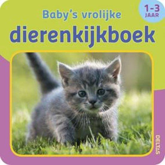 Babys vrolijke dierenkijkboek 1 3 jaar