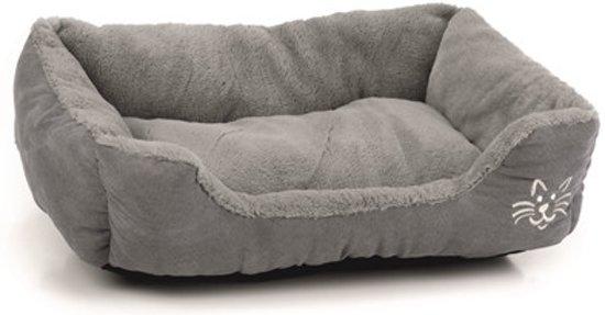 Beeztees Baboo Kattenmand - Grijs - 48 x 37 x 18 cm