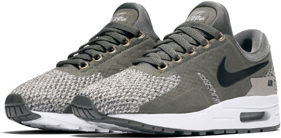 389eebf97b3 bol.com | Nike Air Max Zero SE Sneakers - Maat 38 - Unisex - groen/zwart