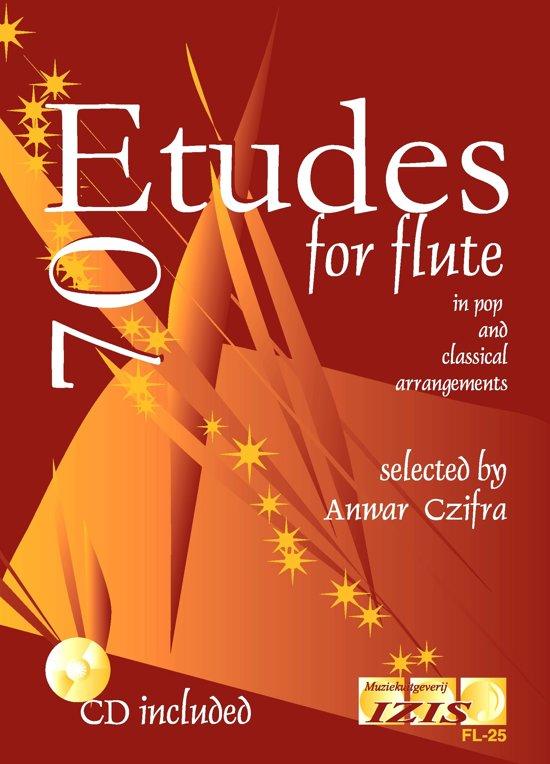 70 ETUDES for flute + meespeel-cd. Voor dwarsfluit. <br /><br /> Bladmuziek voor fluit, izis, bladmuziek voor dwarsfluit, etuden, oefeningen, toonladders, lesboek, leerboek, methode, play-along, bladmuziek met cd, muziekboek.