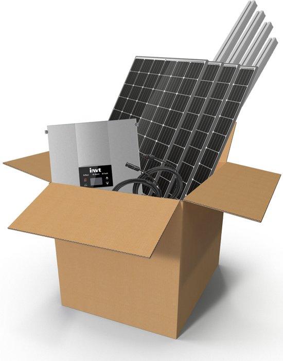Zonnepanelen compleet pakket 3000W MONO zonnepanelen