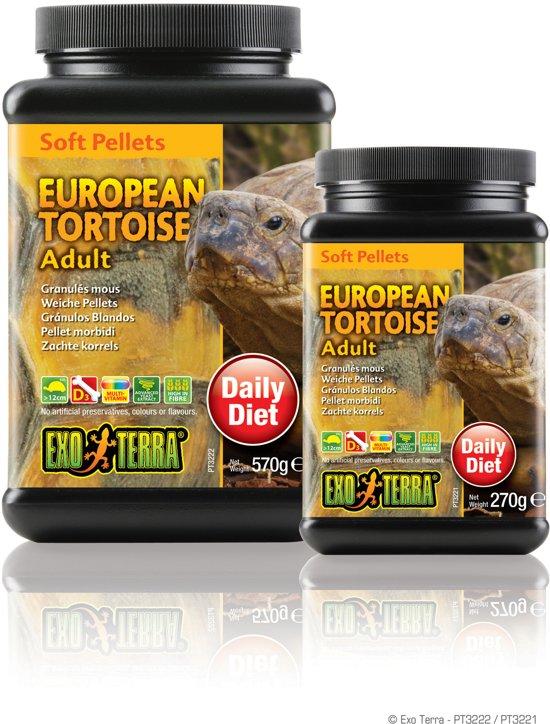 Soft Pellets Jonge Europese Schildpad 260 gram