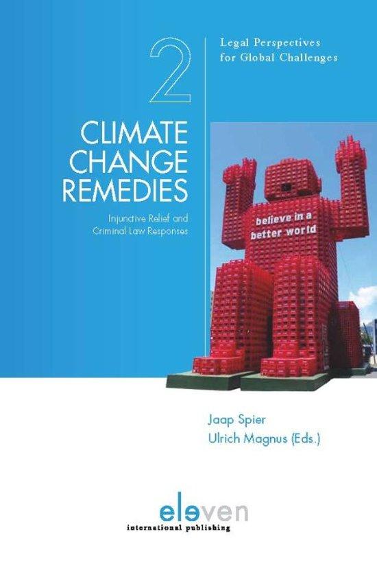 Boek cover Climate Change Remedies van Spier, Jaap
