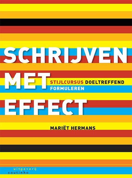 Schrijven met effect - Mariët Hermans