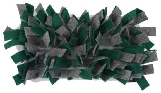 Bunny nature snuffelmat vilt grijs / groen 28x15x5 cm