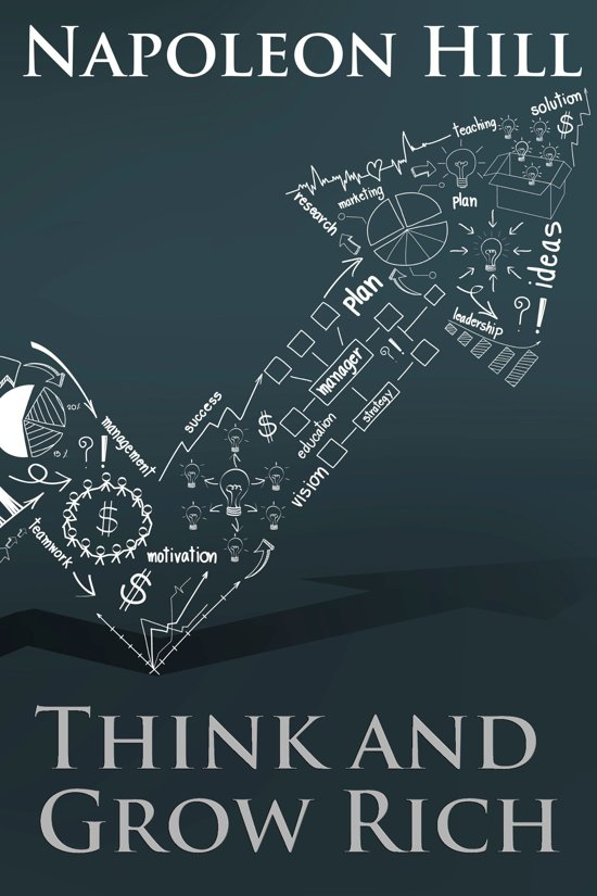 Boek cover Think and Grow Rich van Napoleon Hill (Onbekend)