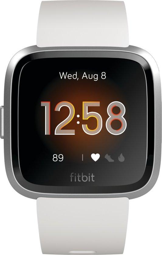 Fitbit Versa Lite - Smartwatch - Wit