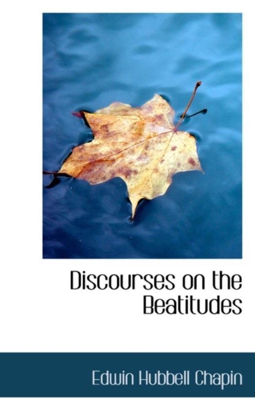 Discourses on the Beatitudes