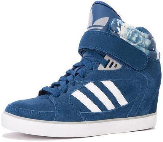 a80fac5f8fc bol.com | Adidas Amberlight Up Wedge - Blauw