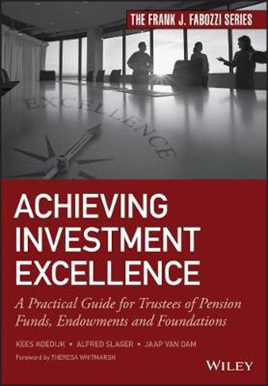 Achieving Investment Excellence