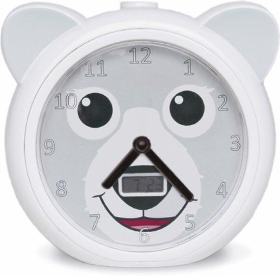 Zazu - Bobbie - Slaaptrainer - Wit - Kinderwekker - Analoge kinderwekker met tikkend geluid