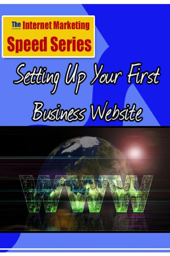 Boek cover Setting Up Your First Business Website van Mike Browne (Onbekend)