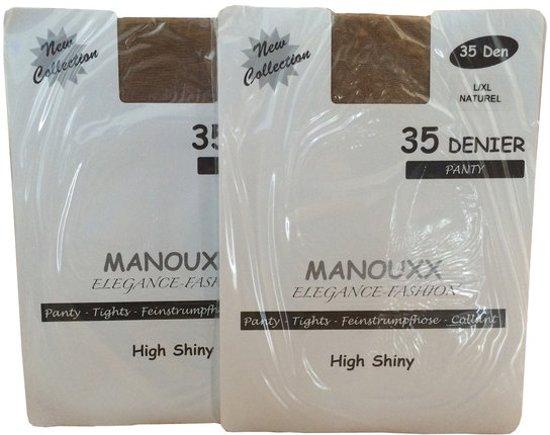 24 PAAR Panty's - 35 Denier - Kleur Huidskleur - Maat XXL