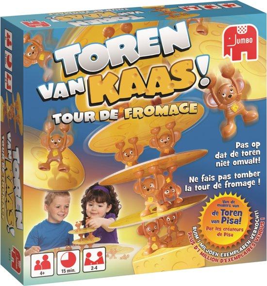 Zeer bol.com | Jumbo Toren van Kaas Peuterspeelzaal Spel om fijne &PA28
