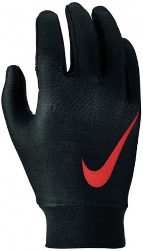 Nike Base Layer handschoenen kids zwart/rood - L