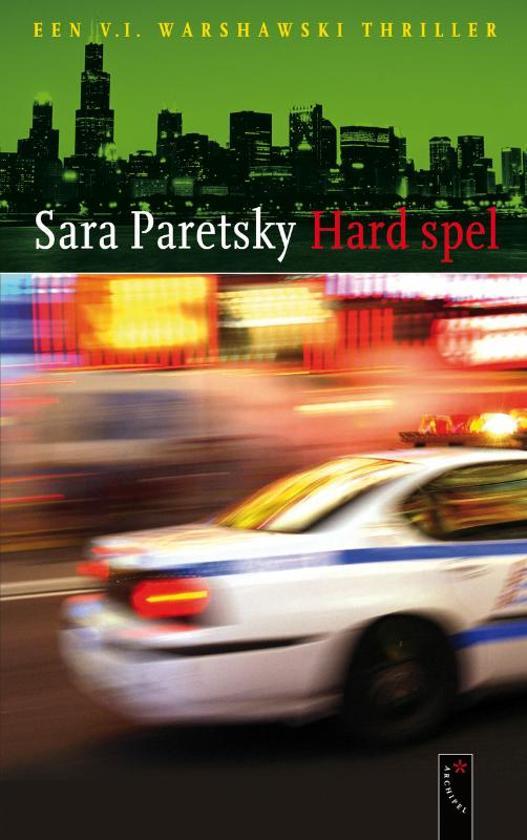Cover van het boek 'Hard spel' van S. Paretsky
