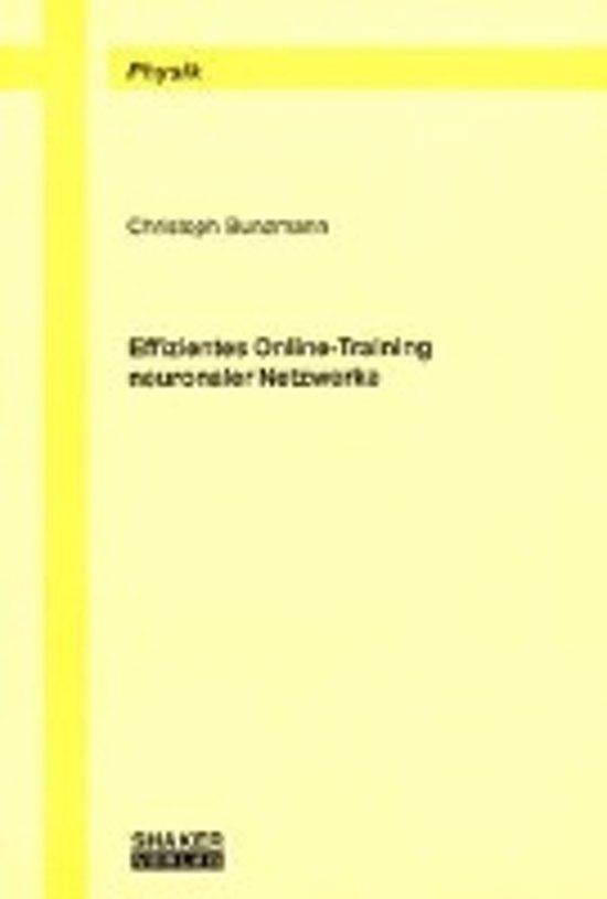 Effizientes Online-Training neuronaler Netzwerke