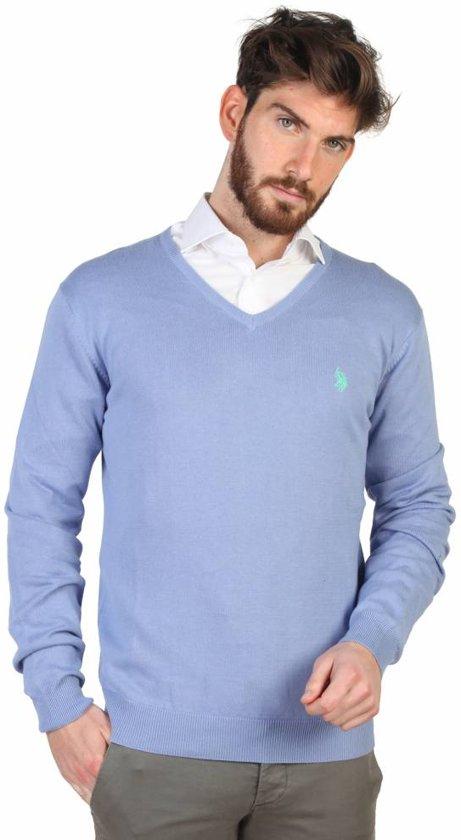 Heren Pullover van U.S. Polo - blauw