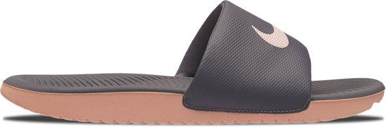 the best attitude 3b82f 038cf Nike Kawa Slippers - Maat 39 - Vrouwen - grijslicht roze