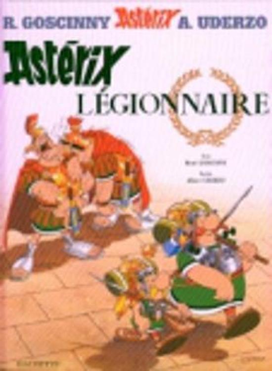 Boek cover Astérix légionnaire van Rene Goscinny