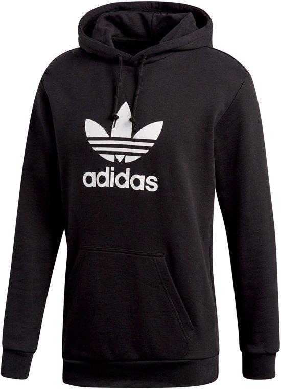 adidas Originals Trefoil Hoodie Heren Black Maat S