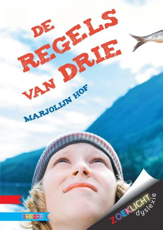Boek cover Zoeklicht dyslexie - De regels van drie van Marjolijn Hof (Hardcover)