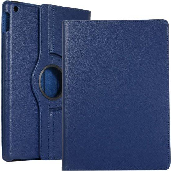 iPad 10.2 (2019) Hoesje - 360 Rotating Case - Donkerblauw