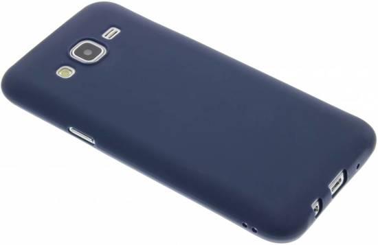 Cas De Tpu Couleur Foncée Pour Samsung Galaxy J5 XOgc2