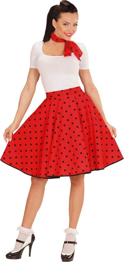 Top bol.com | Rode jaren 50 sjaal en rok voor vrouwen  &XG93