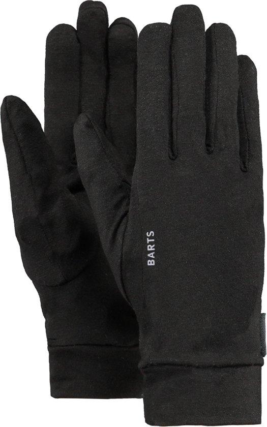 Barts Liner Gloves Unisex Handschoenen - Black - Maat M/L