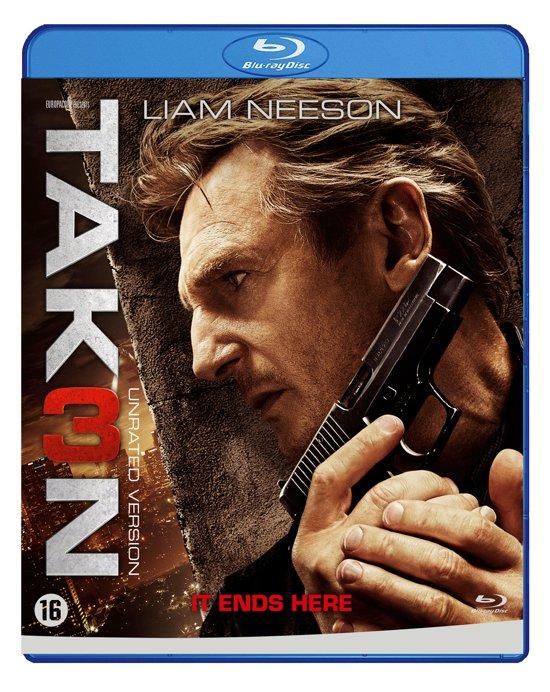 DVD cover van Taken 3 (Blu-ray)