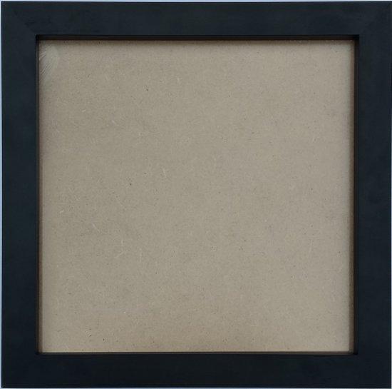 Homedecoration Victoria - Aluminium - fotolijst - Fotomaat - 28x141 cm - zwart