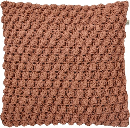 Kussenhoes Crox 45x45 cm koper