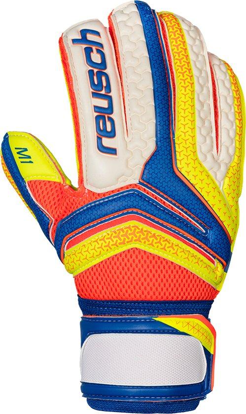 Reusch Serathor Prime M1 - Keepershandschoenen - Uni - Blauw-Geel-Oranje-Wit - Maat 9