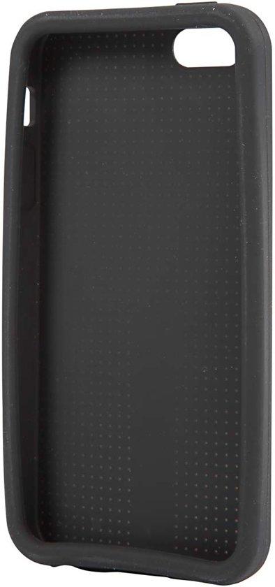 Hoes voor mobiele telefoon om te borduren, 5/5S, afm 12,5x6 cm, dikte 10 mm, zwart, 1stuk