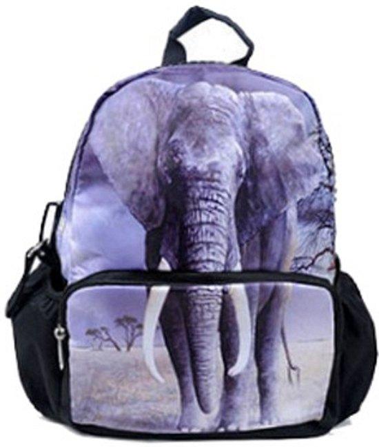 f642e899721 bol.com | Kinder rugzak met olifanten print 32 cm