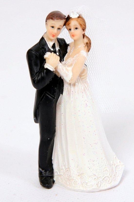 bruidspaar op de taart bol.| Bruidspaar taart decoratie, Folat | Speelgoed bruidspaar op de taart