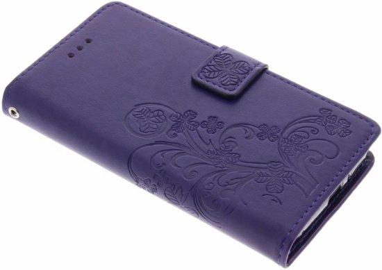 Fleurs De Trèfle Noir Booktype Pour Samsung Galaxy Xcover 4 P4hPsMjyO
