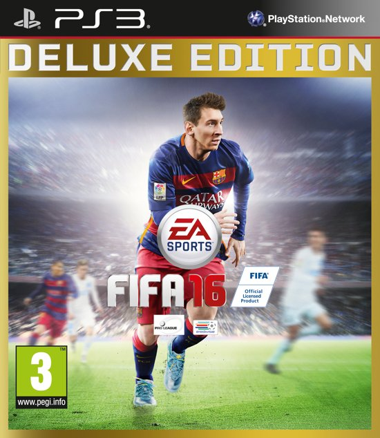 FIFA 16 - Deluxe Edition - PS3