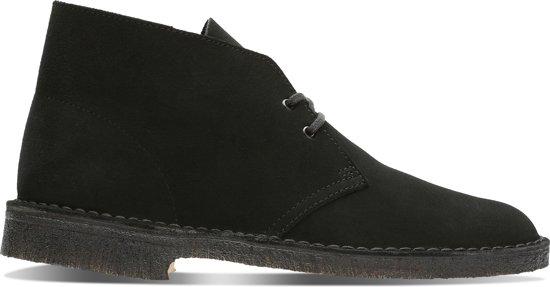 43 Laarzen Suede Black Heren Zwart Clarks Maat Boot Desert qwXZ6R8ga