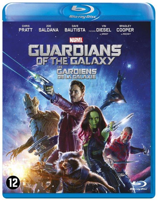 DVD cover van Guardians of the Galaxy (Blu-ray)
