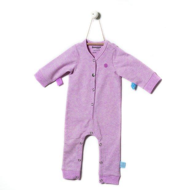 Snoozebaby Meisjes Boxpak - pink melange - Maat 62